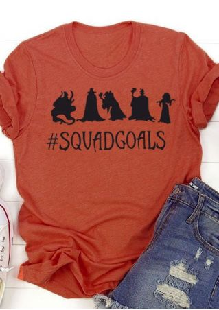 Halloween Squad Goals Witch T-Shirt