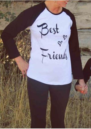 Mommy Best Friends Heart Baseball T-Shirt