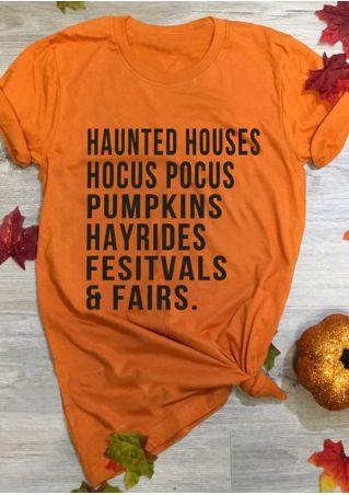 Hocus Pocus Pumpkins Hayrides T-Shirt