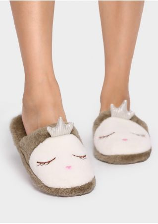Cute Fausse Fourrure Slippers