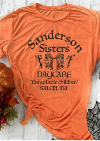 Sanderson Sisters Daycare Come Little Children T-Shirt