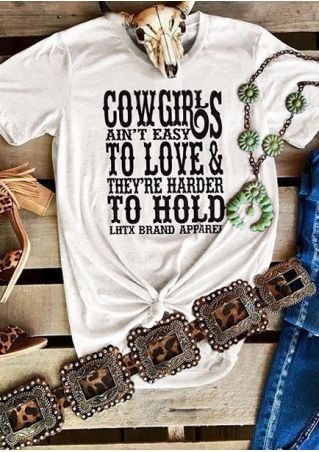 Cow Girls To Love To Hold T-Shirt