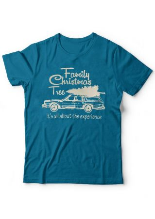 Family Christmas Tree Car T-Shirt