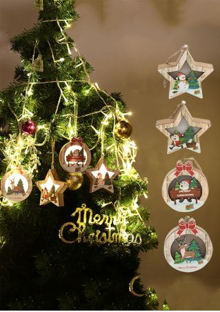 Merry Christmas LED Hanging Decoration
