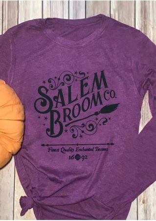 Salem Broom Long Sleeve T-Shirt