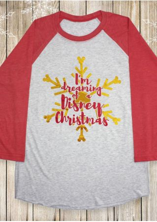 I'm Dreaming Of A Christmas Baseball T-Shirt