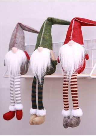 Nisse Gnome Striped Home Decoration