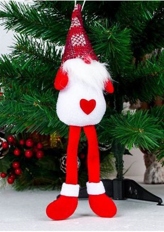 Christmas Long Foot Nisse Gnome Pendant