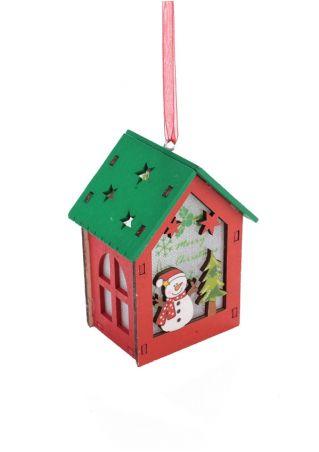 LED Christmas Santa Reindeer Hanging Decoration
