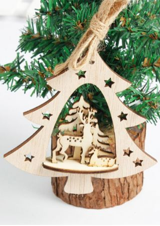 Christmas Santa Reindeer Hanging Decoration