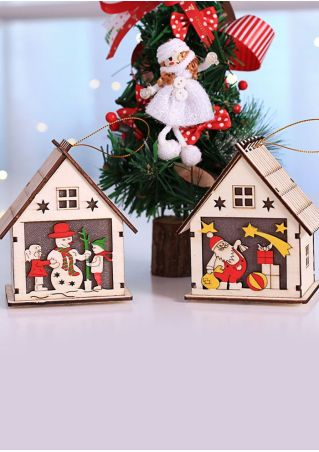 Christmas Cabin Hanging Decoration