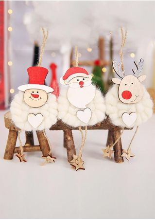 3Pcs Christmas Hanging Decoration
