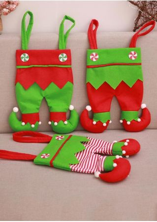 Christmas Elf Pants Candy Bag