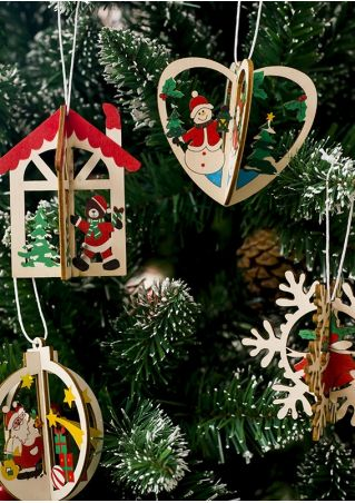 Christmas 3D DIY Hanging Decoration