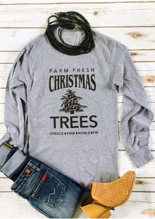 Farm Fresh Christmas Trees Sweatshirt