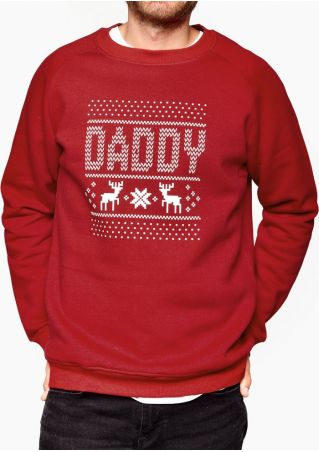 Matching Family Christmas Elk Sweatshirt