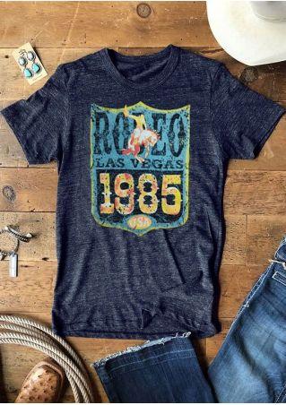 Rodeo Las Vegas 1985 USA T-Shirt