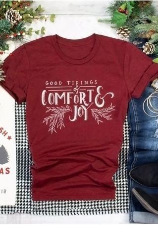 Good Tidings Comfort & Joy T-Shirt