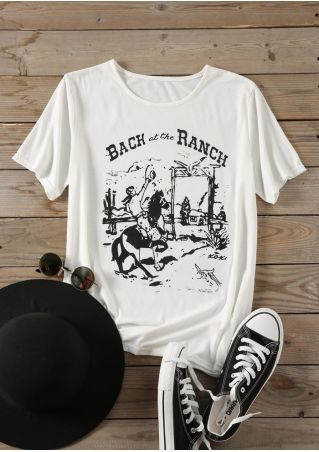 Back At The Ranch T-Shirt