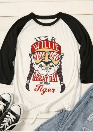 A Willie Great Day Baseball T-Shirt