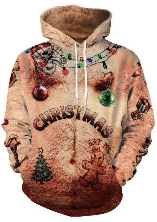 3D Christmas Eat Me Hoodie