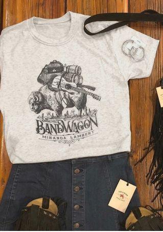 Bandwagon Miranda Lambert T-Shirt