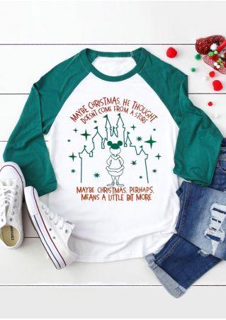 Christmas Means More Baseball T-Shirt