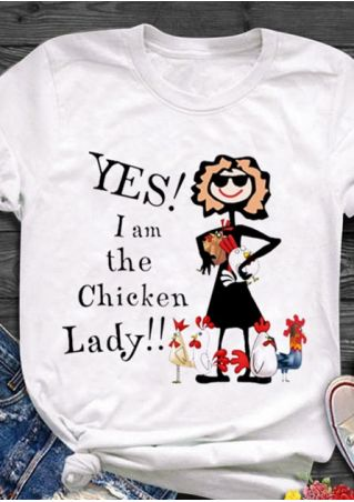 I Am The Chicken Lady T-Shirt