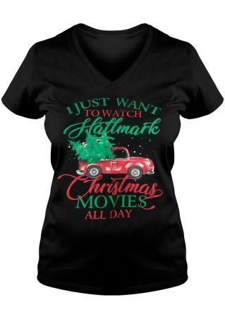 Watch Hallmark Christmas Movie T-Shirt