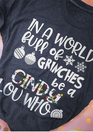 Christmas Light Full Of Grinches T-Shirt