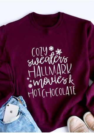 Hallmark Movies & Hot Chocolate Sweatshirt