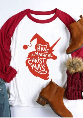 Have A Magical Christmas Baseball T-Shirt