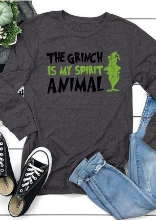 The Grinch Is My Spirit Animal T-Shirt