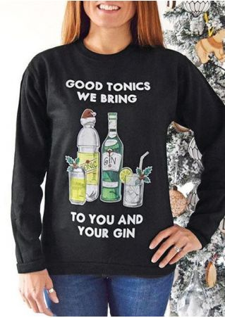 Good Tonics We Bring Sweatshirt