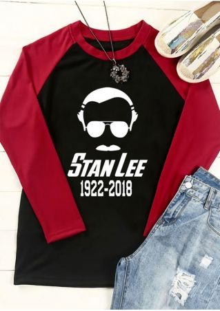 Stan Lee 1922-2018 Baseball T-Shirt