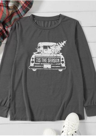 Tis The Season Christmas Tree T-Shirt