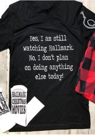 I Am Still Watching Hallmark T-Shirt