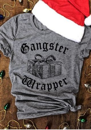 Gangster Rapper Gift O-Neck T-Shirt