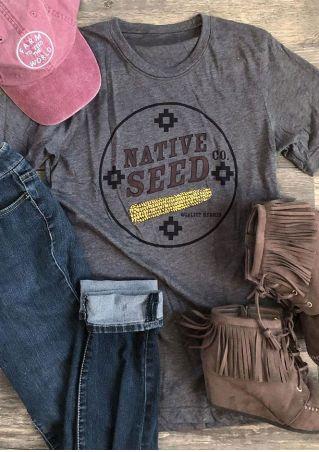 Native Seed Corn Short Sleeve T-Shirt