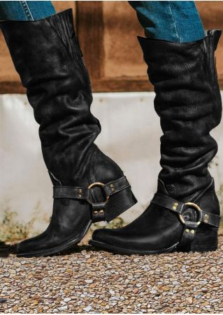 Solid Vintage Gore Ring Riding Boots