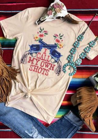 I Call My Own Shots T-Shirt