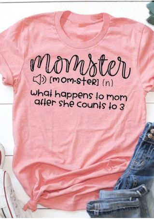 Momster What Happens To Mom T-Shirt