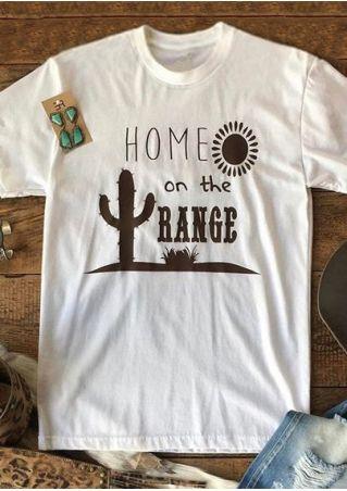 Home On The Range Cactus T-Shirt