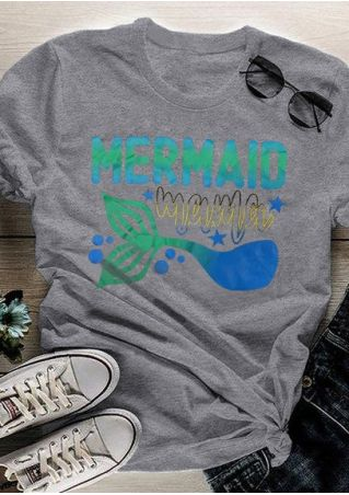 Mermaid Mama Short Sleeve T-Shirt