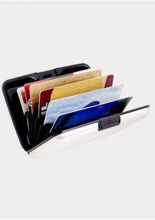 Alloy Card Holder Case Wallet