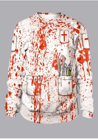 Unisex Blood Handprint Sweatshirt