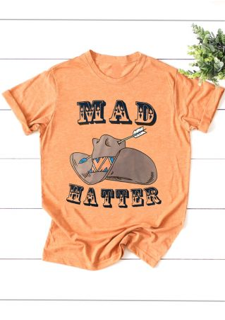 Mad Hatter Arrow O-Neck T-Shirt