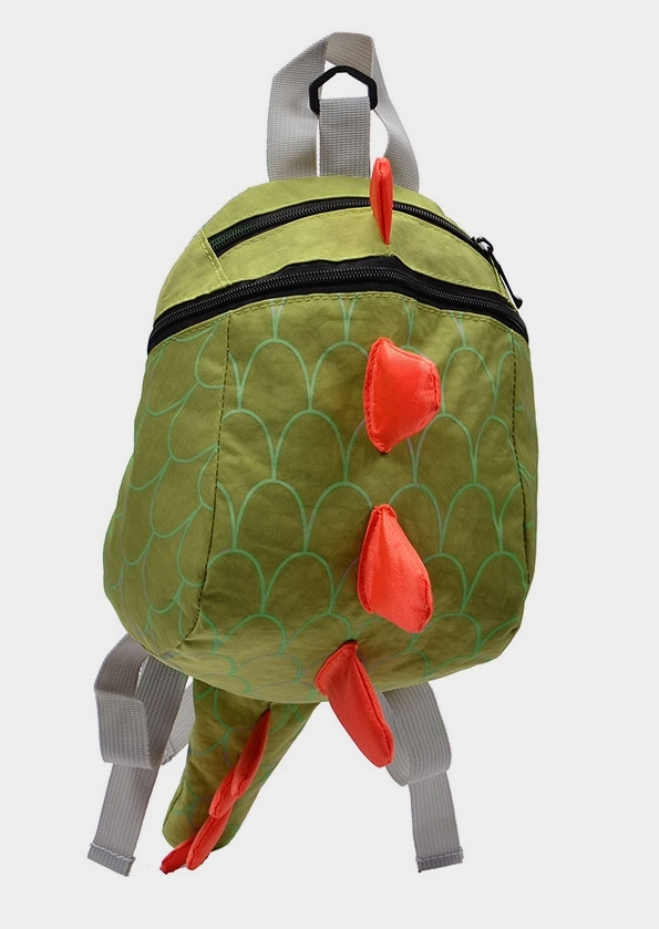 Children Dinosaur Cartoon Backpack with Safety Leash