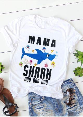Mama Shark Doo Doo Doo T-Shirt