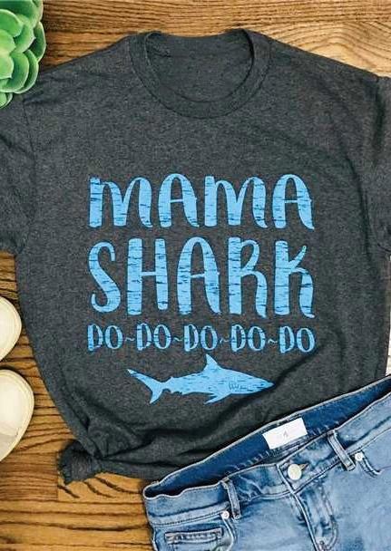 Mommy Amp Me Mama Shark Baby Shark T Shirt Tee Bellelily
